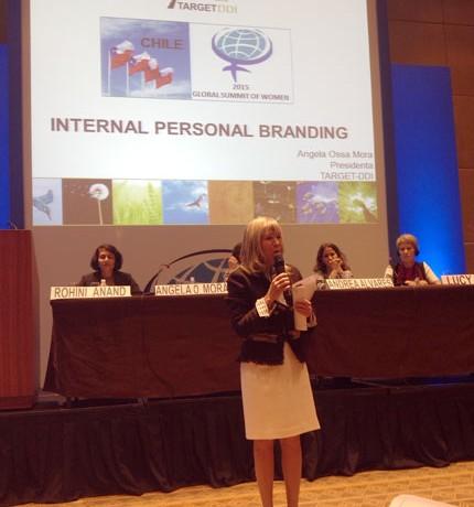 Presidenta de TARGET-DDI  expuso en el Global Summit of Women 2015 en Sao Paulo,  Brasil