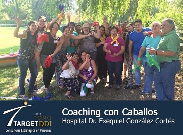 Target DDI realiza Coaching con Caballos a Hospital Dr. Exequiel González Cortés