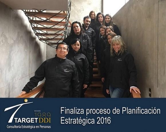 Target DDI finaliza proceso de Planificación Estratégica