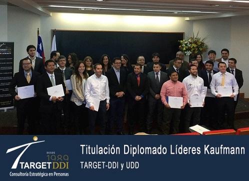 Titulación Diplomado Líderes Kaufmann en Universidad del Desarrollo