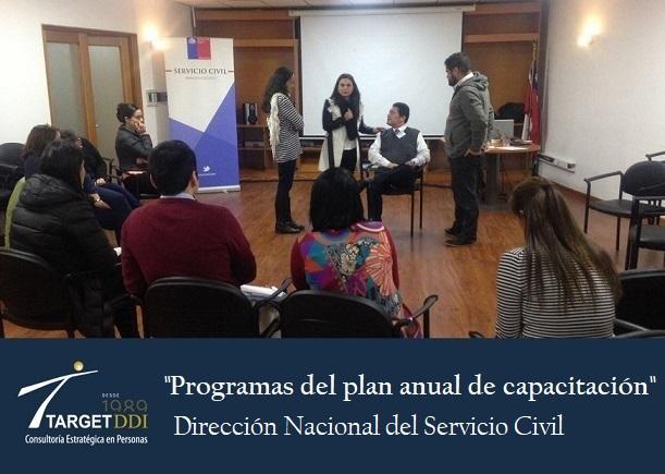 TARGET-DDI Evaluará la Transferencia al puesto de trabajo a la Dirección Nacional del Servicio Civil (DNSC)