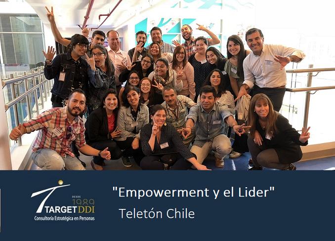 """Entrenamiento """"Empowerment y el Lider"""", con Equipo Gestor Nacional Voluntariado Teletón Chile"""