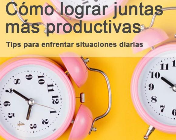 Cómo lograr juntas más productivas