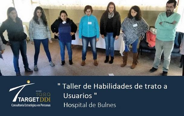 TARGET-DDI realizó Taller para los colaboradores del Hospital de Bulnes