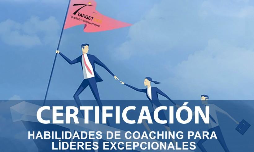 """Certificación """"Habilidades de Coaching Para Líderes Excepcionales"""""""